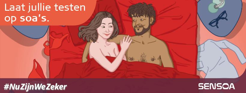 Campagnebeeld #NuZijnWeZeker