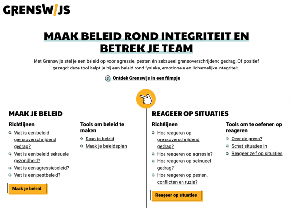 Screenshot grenswijs.be