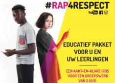#rap4respect -educatief pakket over cybergeweld