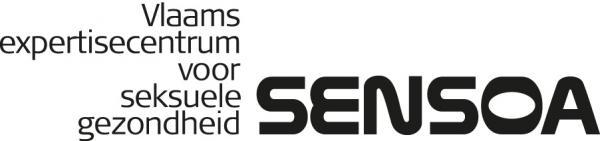 logo Sensoa met lange baseline - monotoon