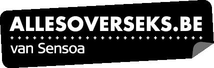 logo Allesoverseks.be - monotoon