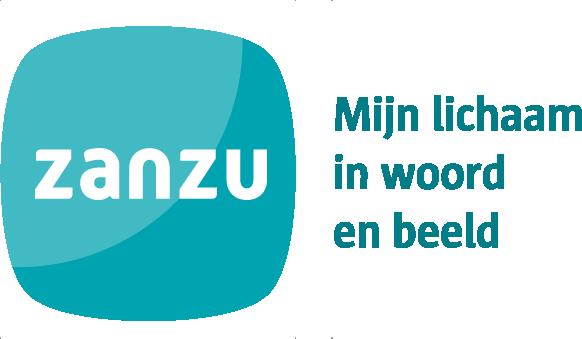 logo Zanzu met baseline- kleur
