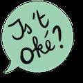 logo campagne Is 't oké